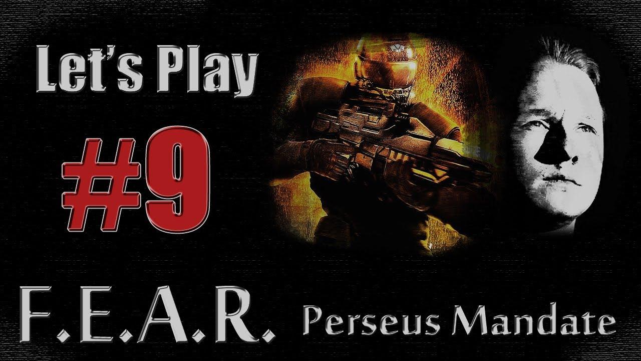 Let's Play F E A R  Perseus Mandate: Part 9 - Mine!