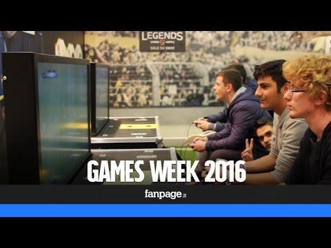 Games Week 2016: a Milano la sesta edizione del salone dedicato ai videogiochi