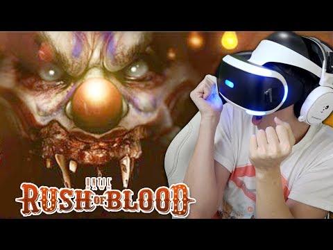 Main Horror di VR Pertama Kali - Until Dawn: Rush of Blood