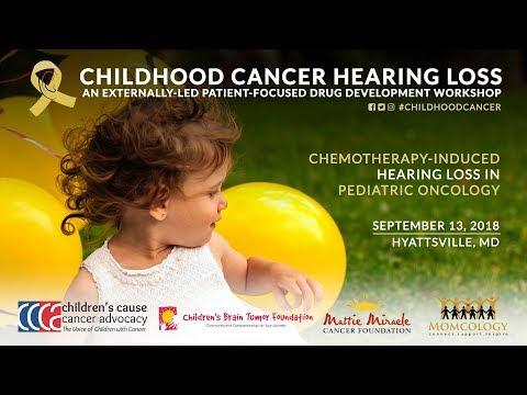 Childhood Cancer Hearing Loss PFDD Meeting (Full Program) Mp3