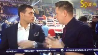 Григорий Дрозд о бое Гассиев - Лебедев