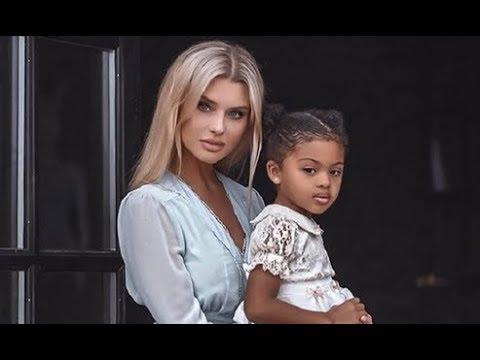 МЕЖРАСОВЫЕ СЕМЬИ. Российская модель которая замужем за футболиста из Нигерии, показала свою дочь