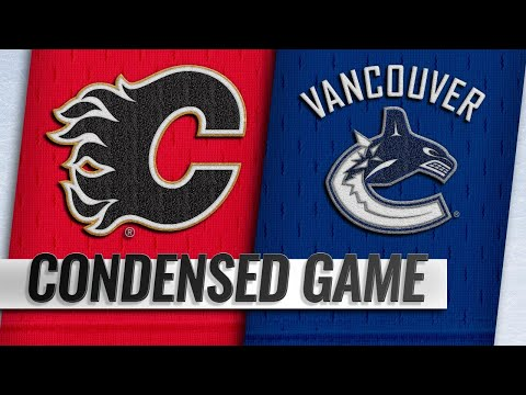10/03/18 Condensed Game: Flames @ Canucks