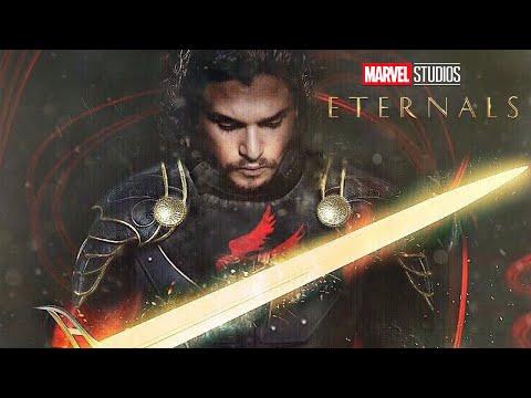 Eternals Trailer Black Knight and Marvel Superman Scene Easter Eggs
