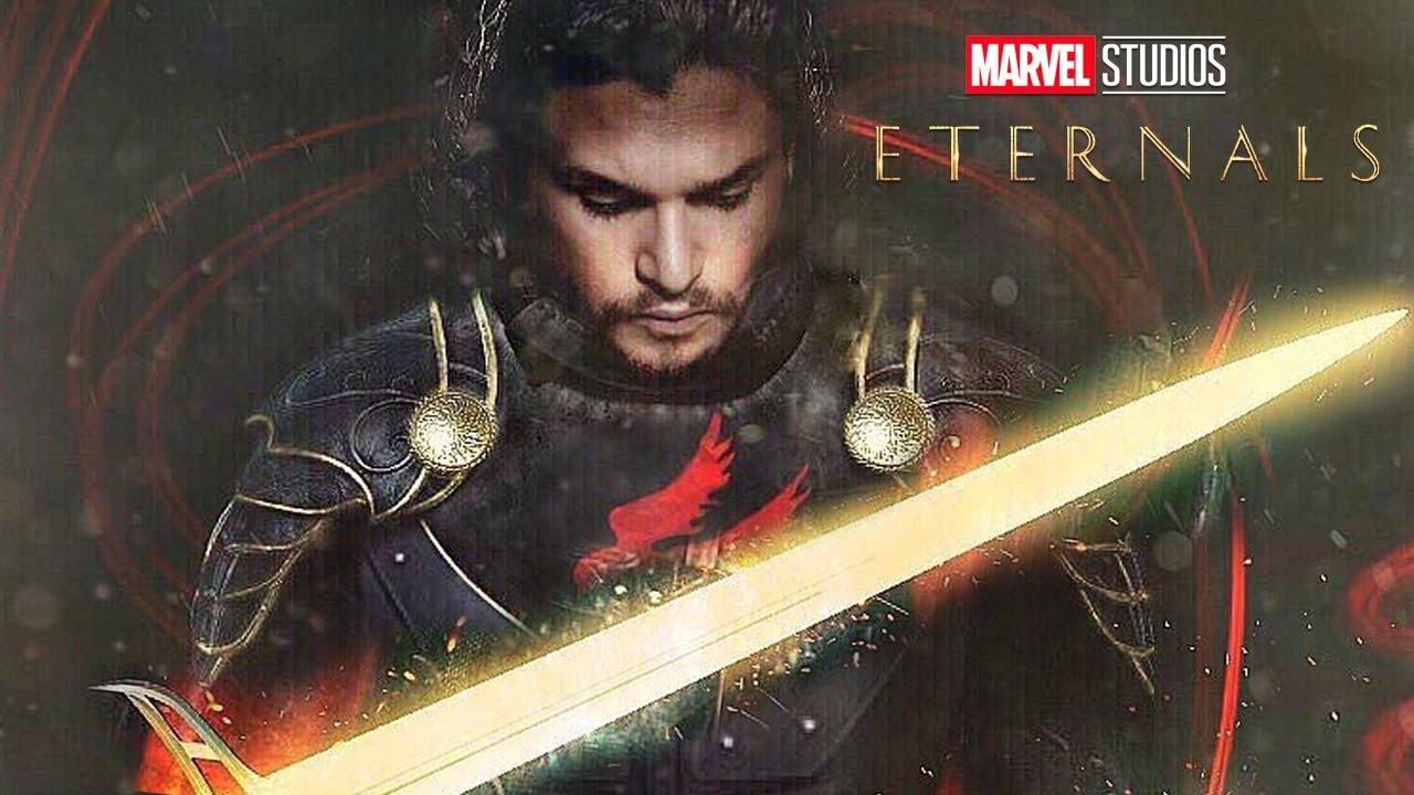 Download Eternals Trailer Black Knight and Marvel Superman Scene Easter Eggs