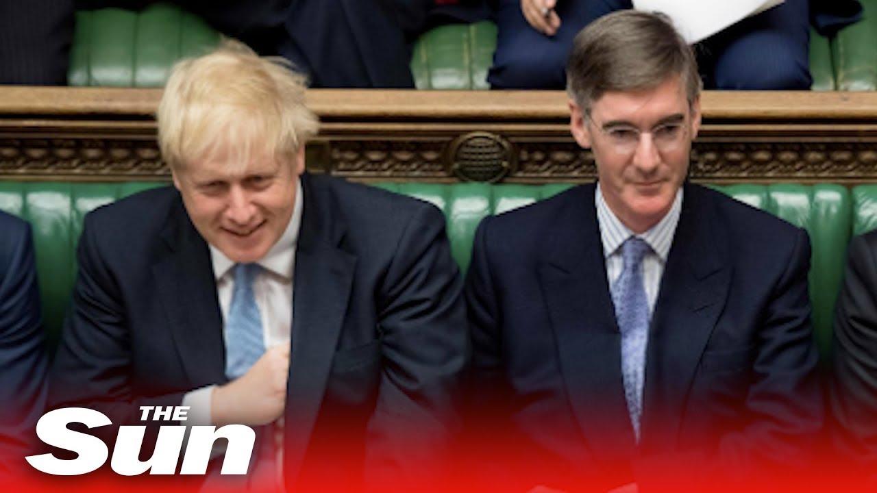 Jacob Rees Mogg Backs Boris Johnson Over Parliament Brexit Shut