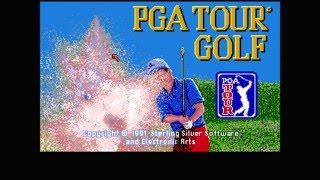 PGA Tour Golf  - 1991 - Commodore Amiga ( 9 Holes Gameplay)