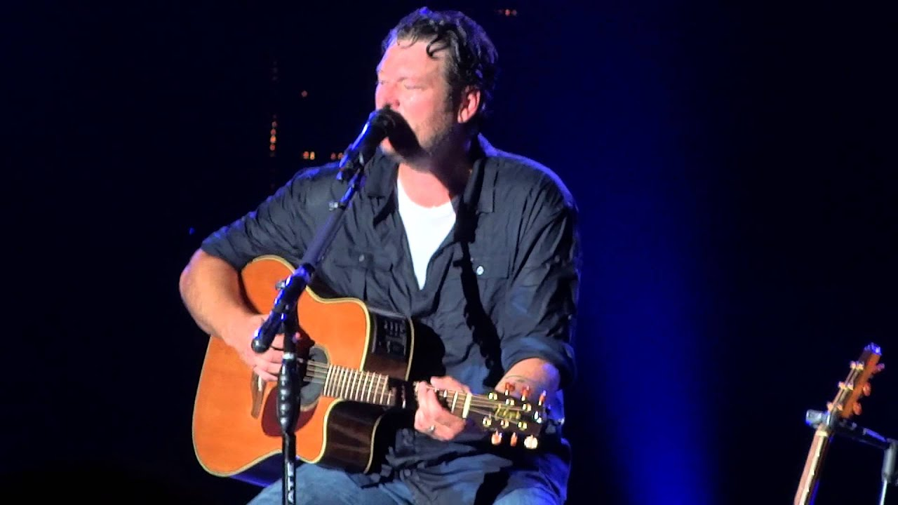 Blake Shelton Austin 8 9 13 Youtube