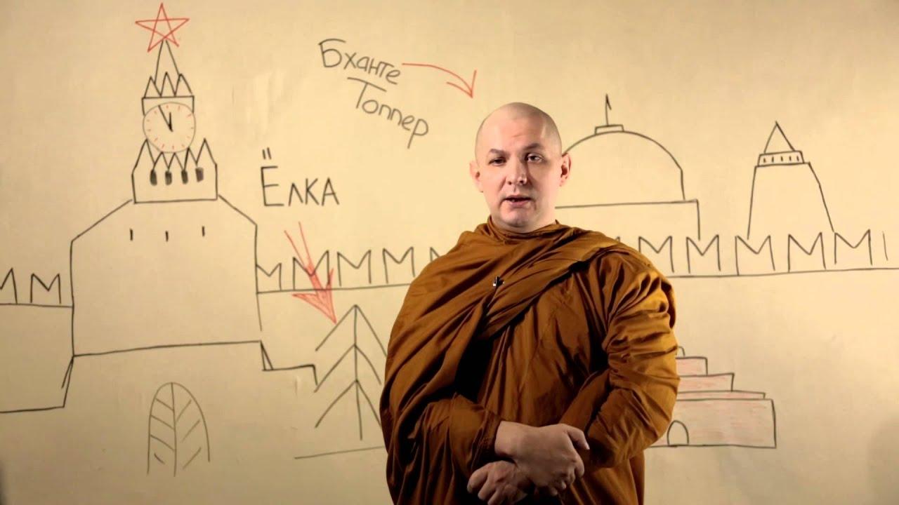 Поздравление Бханте Топпера от Тхеравада.ру - YouTube