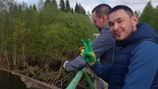 Магнитная рыбалка Река СТАРИЦА Часть 2