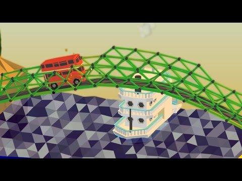 ALL BRIDGES COMPLETE | Poly Bridge #4