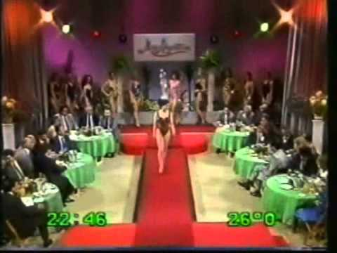 Miss San Fernando rumbo a Miss Argentina (Tevedos, 1990)