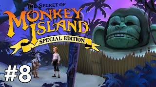 The Secret of Monkey Island (Special Edition) - Exploring - PART #8