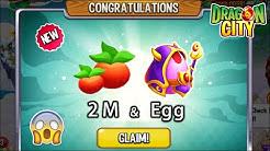 Dragon City - Claim 2 Million Foods + High Arcane Dragon   SPECIAL REWARDS 😱