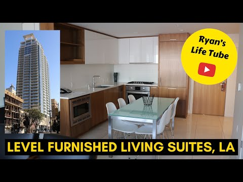 Level Furnished Living Suites, LA, California, Ralph's, Whole Foods Market, GF eating
