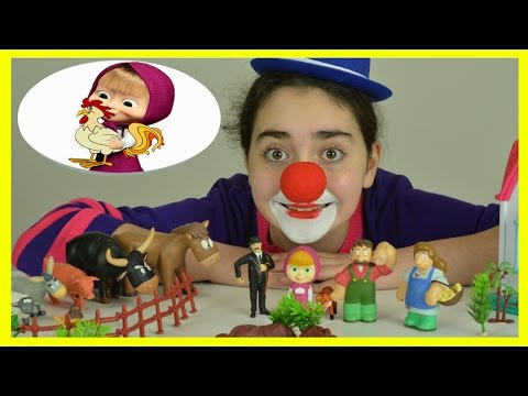 Thumbnail: Farm Animals For Kids - Educational Fun Learning Video with Clown Flower