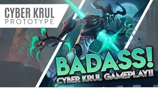 CYBER KRUL: PROTOTYPE GAMEPLAY!! Vainglory [5v5] Ranked - Krul |WP| Jungle Gameplay