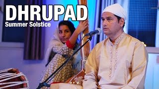 Uday Bhawalkar singing Dhrupad - Indian Classical Music