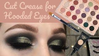 In Depth Tutorial: Easy Cut Crease for Hooded Eyes