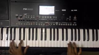 Aashiqui 2 instrumental-KORG PA 300 piano