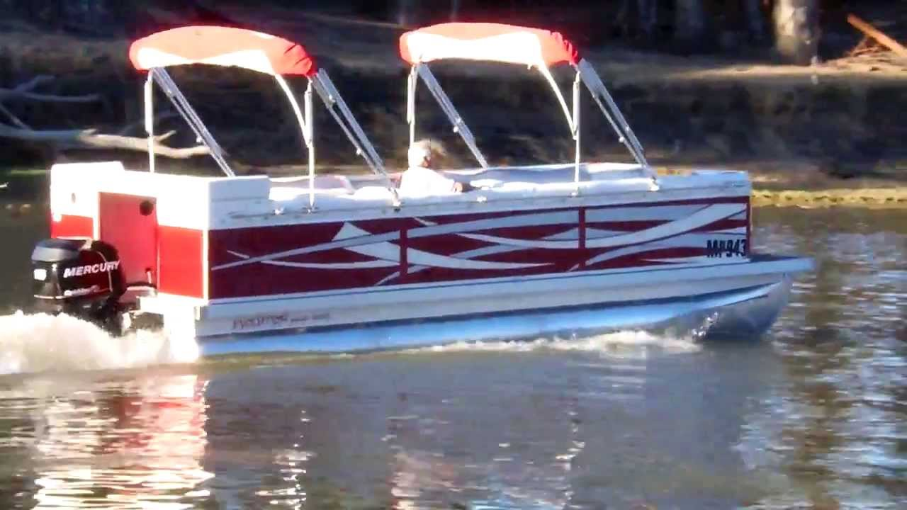 Evolution Power Boats 22 Ft Red Tribal Boat Youtube