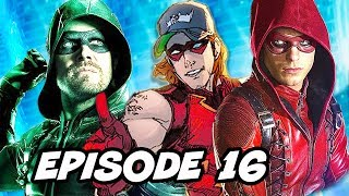 Arrow Season 6 Episode 16 Thea TOP 10 WTF and Finale Teaser Explained