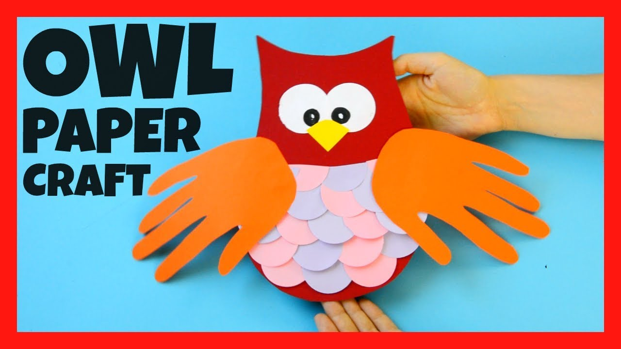 Owl handprint craft fall crafts for kids youtube owl handprint craft fall crafts for kids jeuxipadfo Choice Image