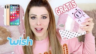 UNBOXING COVER PER IPHONE GRATIS SU WISH !!!