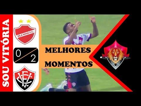 Notícias Do Vitória: Vila Nova 0 X 2 Vitória Melhores Momentos