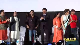 Anil Kapoor shakes legs with Hansika Motwani