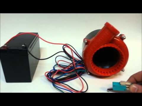 Fake Turbo Blow Off Valve Sound-Simulator (blow off valve for NON turbo cars)