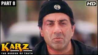 Karz Hindi Movie | Part 8 | Sunny Deol, Sunil Shetty, Shilpa Shetty, Ashutosh Rana | Action Movies
