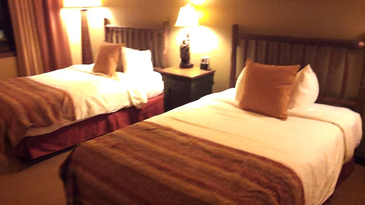 Glacier canyon 2 bedroom suite youtube - Glacier canyon lodge 2 bedroom deluxe ...