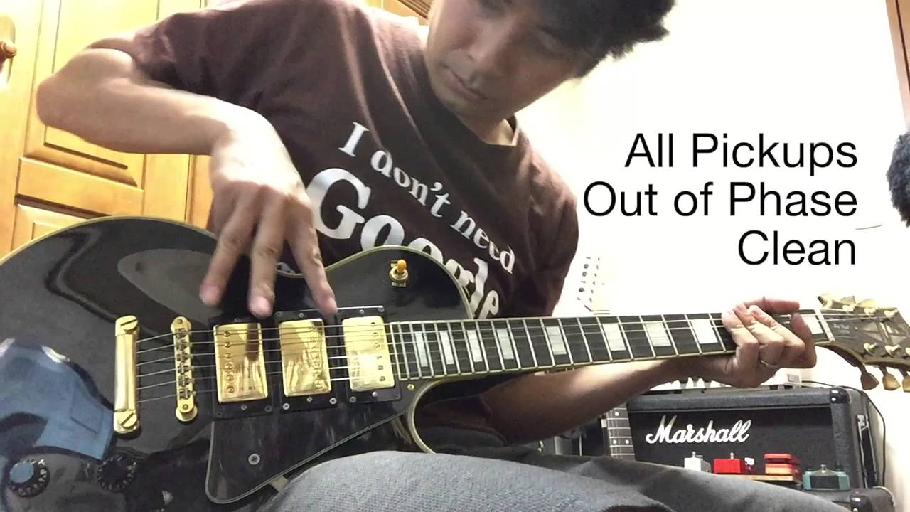 My original 3 Pickup Les Paul sounds controls and wiring YouTube