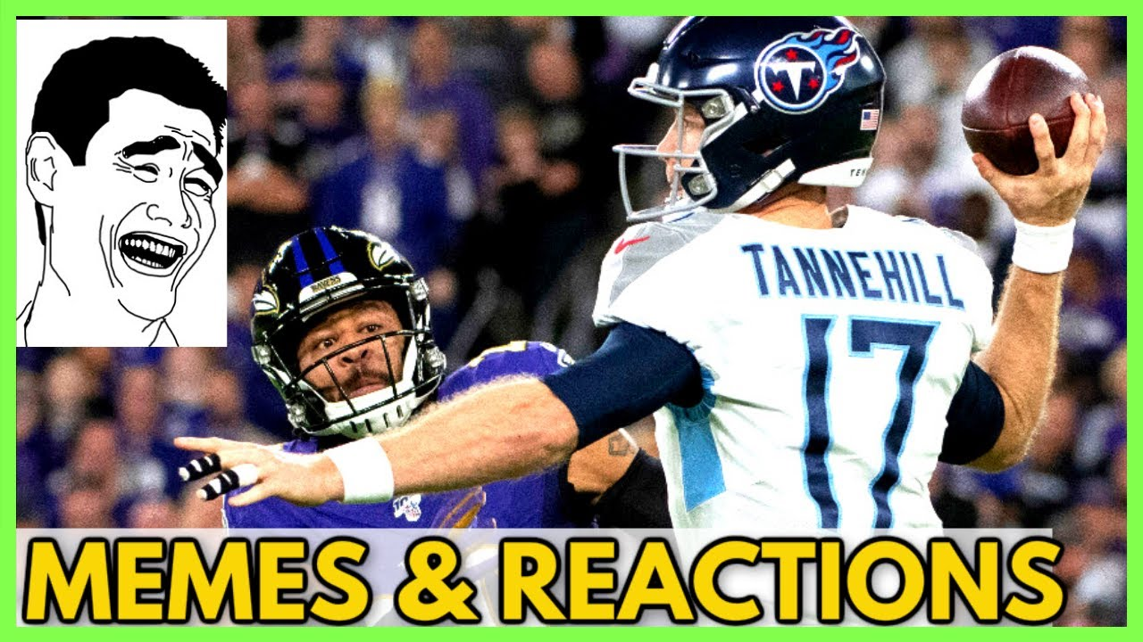 Tennessee Titans Vs Baltimore Ravens Memes Reactions Of Post Game Highlights Nfl Playoffs 2020 Youtube