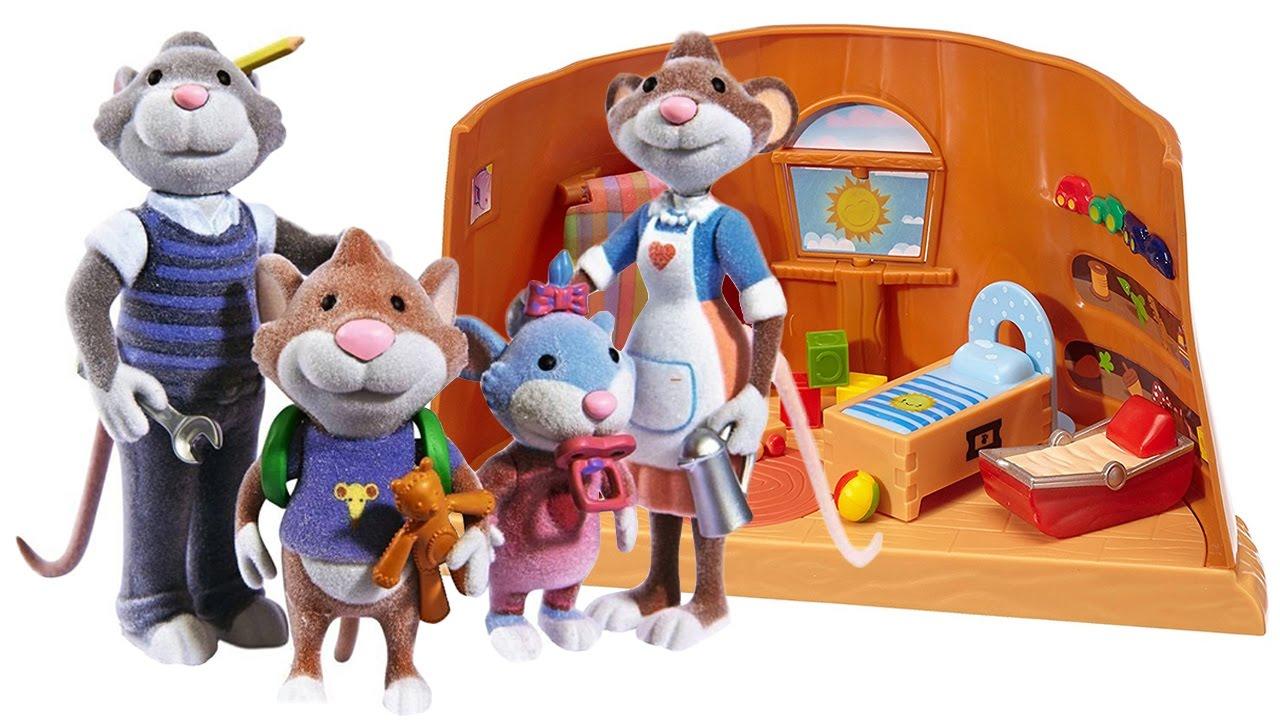 Topo tip scopriamo la famiglia e la cameretta dei for Topo tip giocattoli
