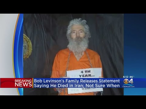 Bob Levinson's Family Releases Statement Saying He Has Died