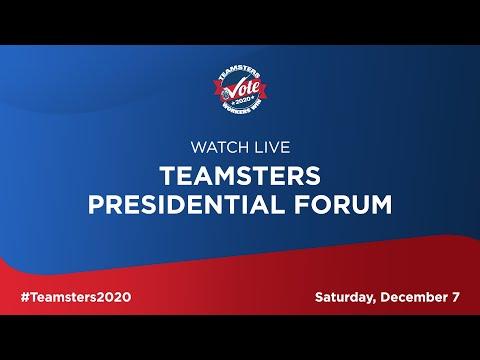 Teamsters Presidential Forum on Worker Issues