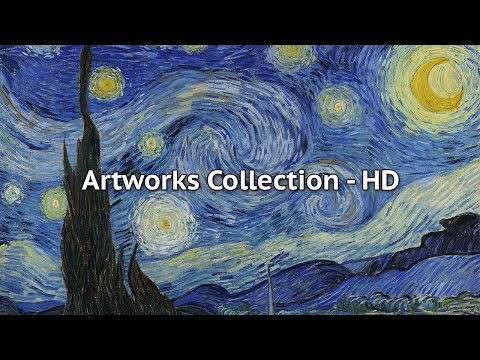 Vincent Van Gogh Masterpieces - Collection of Paintings HD
