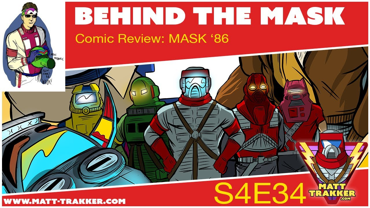 Comic Review MASK '86 #3