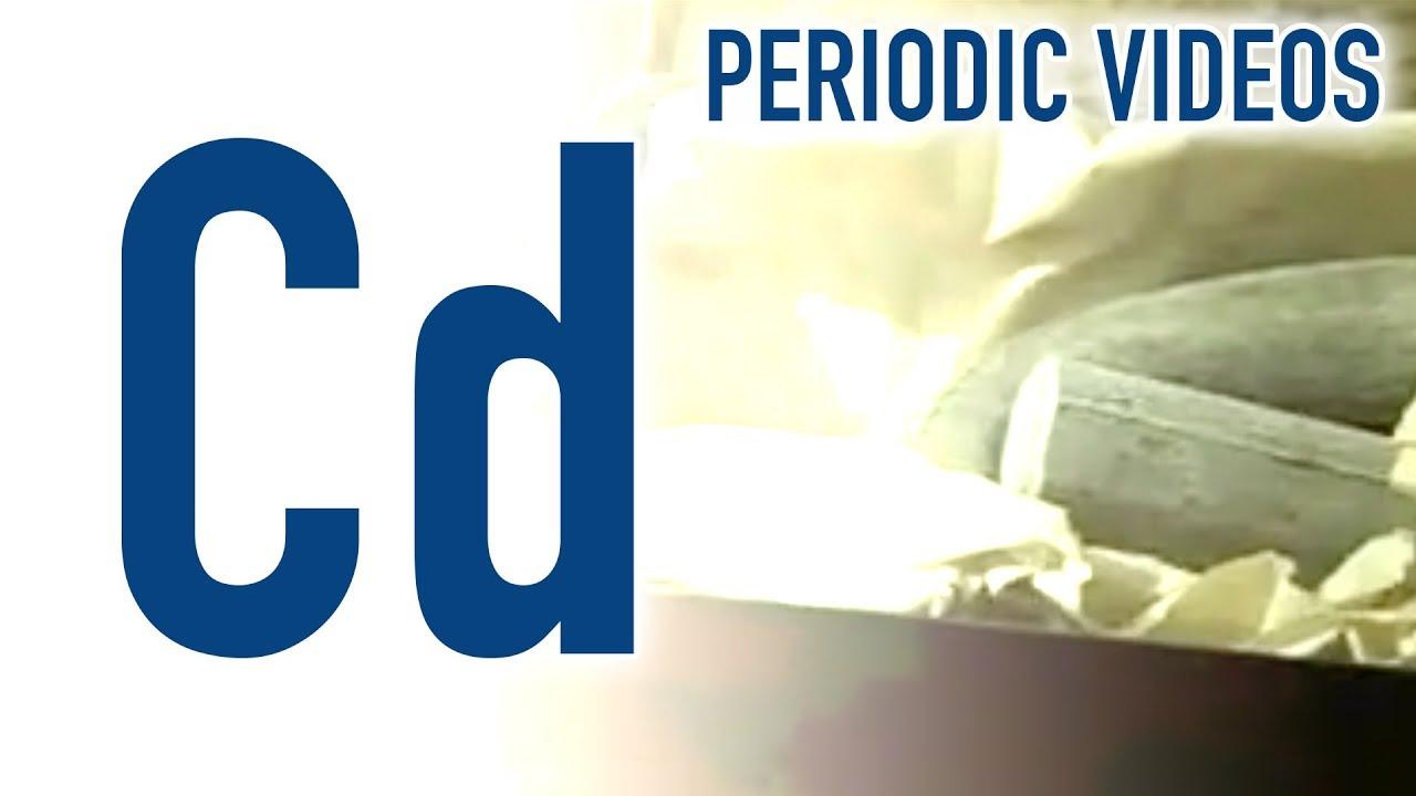 Cadmium - Periodic Table of Videos - YouTube