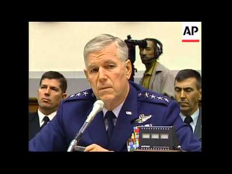 Chairman of Joint Chiefs of Staff gives evidence