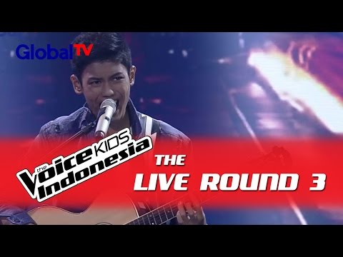 "Nuca ""Malam Biru"" I The Live Rounds I The Voice Kids Indonesia GlobalTV 2016"
