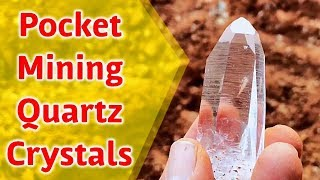 Mining Crystal Pockets @ Twin Creek Mine in Arkansas