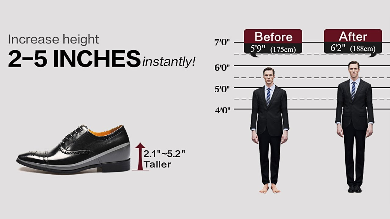 How Does Height Increasing Elevator Dress Shoes Change Your Life You