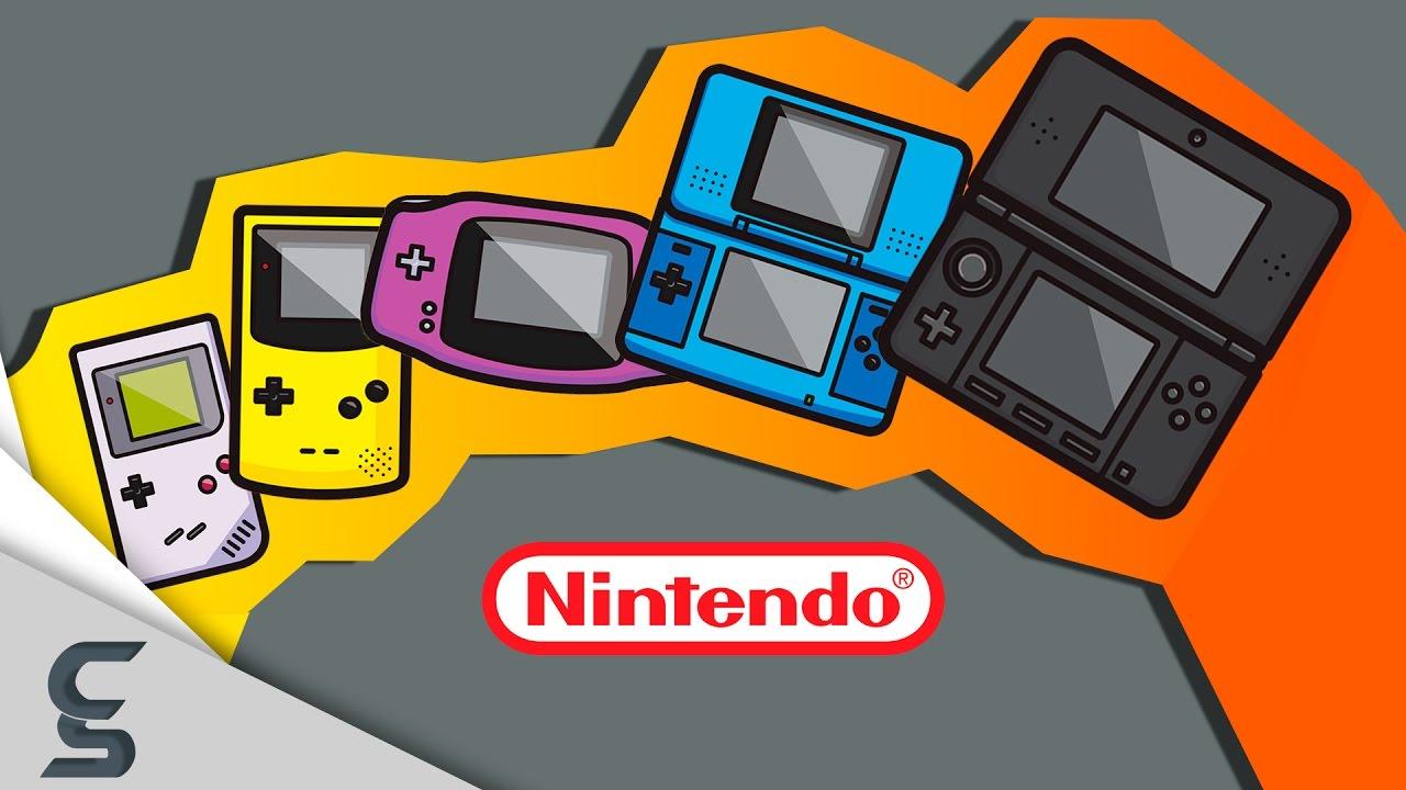 the evolution of video game graphics nintendo handheld
