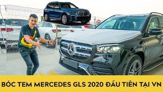 Bóc tem Mercedes GLS 2020 đầu tiên tại Việt Nam, giá chỉ bằng 2/3 so với BMW X7 | Trải nghiệm xe