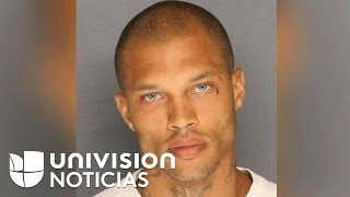 De la cárcel a la pasarela: un preso se convierte en modelo con la foto de su arresto