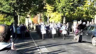 Remembrance Service & Parade Loughborough Town 10 11 2013