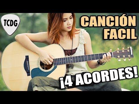 Canción facil en guitarra para principiantes ¡Solo 4 acordes! LAMENTO BOLIVIANO